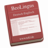 BeoLingus German-English Dictionary Plugin 2019 04 24 Free