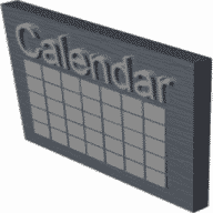 Mini Popup Calendar free download for Mac