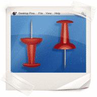 Desktop Pins free download for Mac