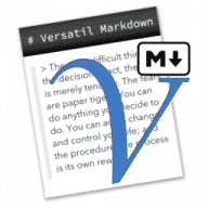 Versatil Markdown free download for Mac