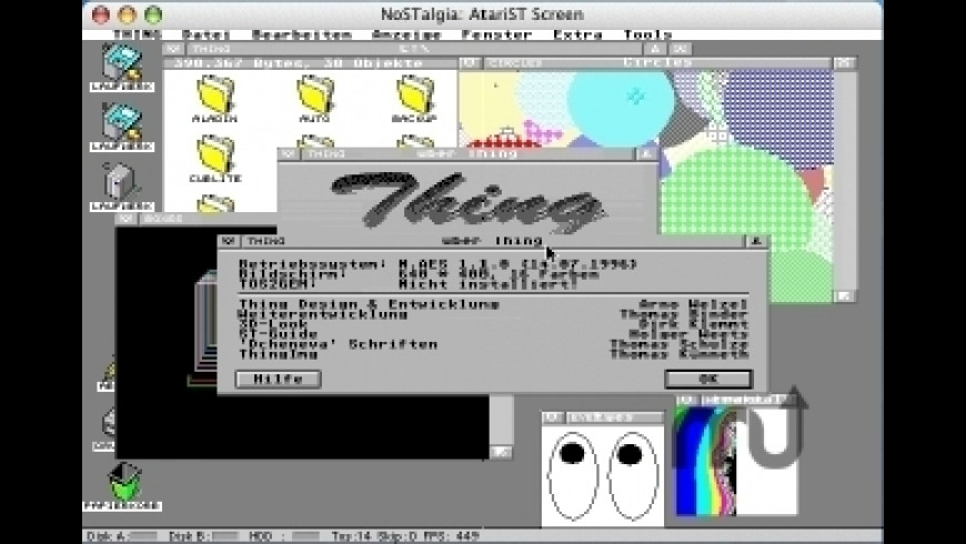 NoSTalgia for Mac - review, screenshots