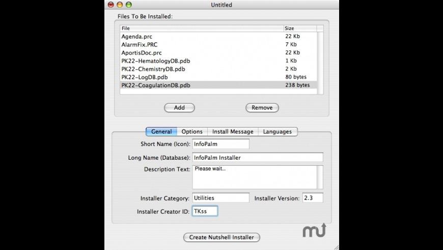 Nutshell for Mac - review, screenshots