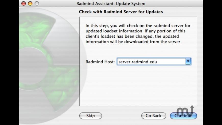 Radmind Assistant for Mac - review, screenshots