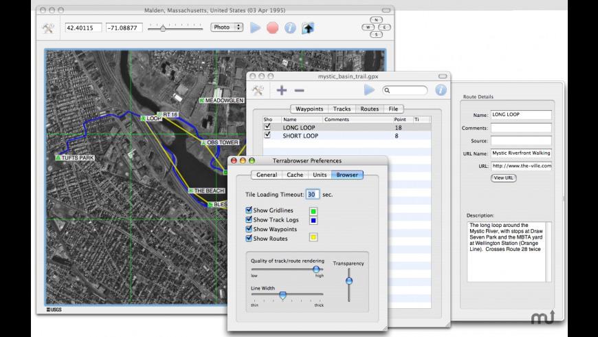 Terrabrowser for Mac - review, screenshots
