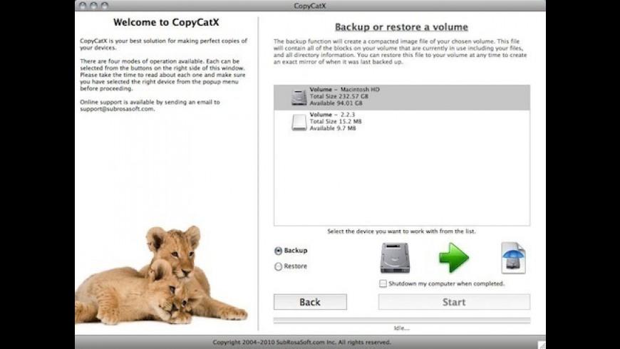 CopyCatX for Mac - review, screenshots