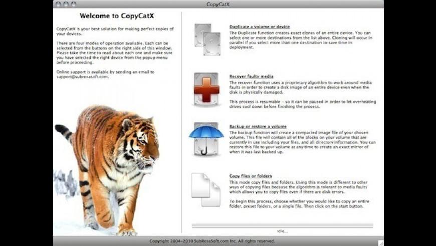 CopyCatX 5 2 Free Download for Mac | MacUpdate