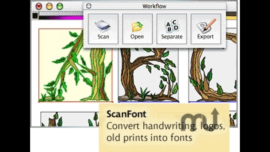ScanFont for Mac - review, screenshots