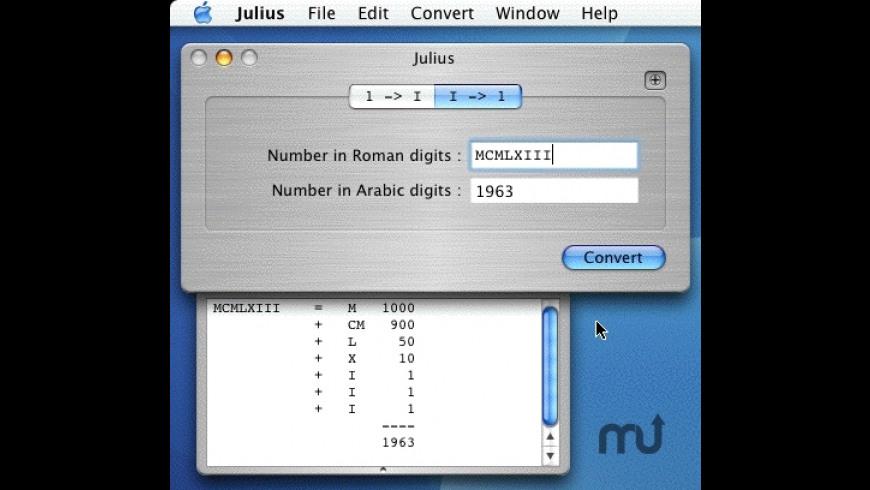 Julius: Numbers converter for Mac - review, screenshots