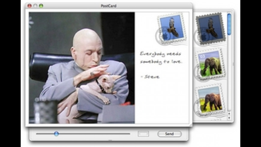 PostCard for Mac - review, screenshots