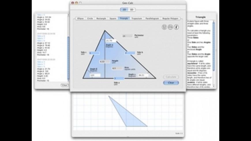 Geo-Calc for Mac - review, screenshots