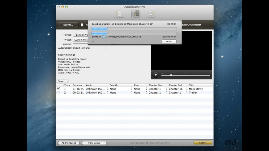 DVDRemaster 8 0 3 Free Download for Mac | MacUpdate