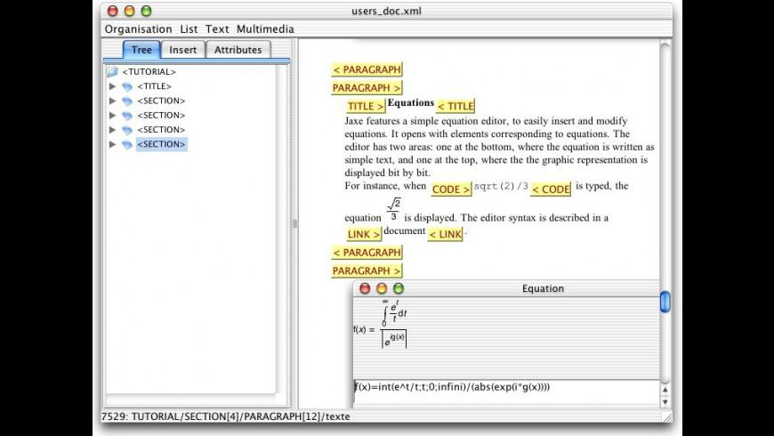 Jaxe for Mac - review, screenshots