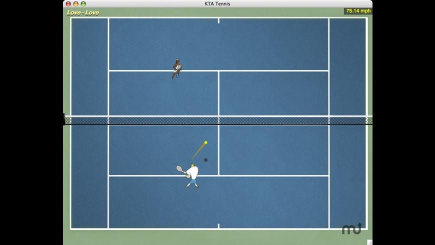 KTA Tennis X for Mac - review, screenshots