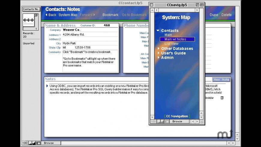 CC Navigation for Mac - review, screenshots