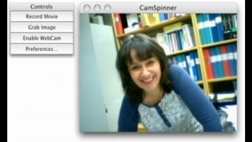 CamSpinner for Mac - review, screenshots