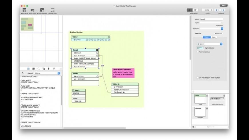 SQLEditor for Mac - review, screenshots