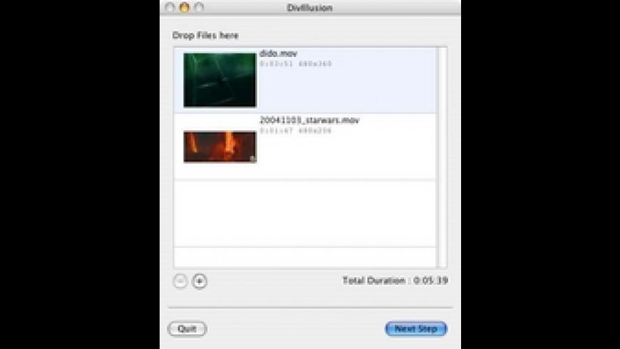 DivIllusion for Mac - review, screenshots