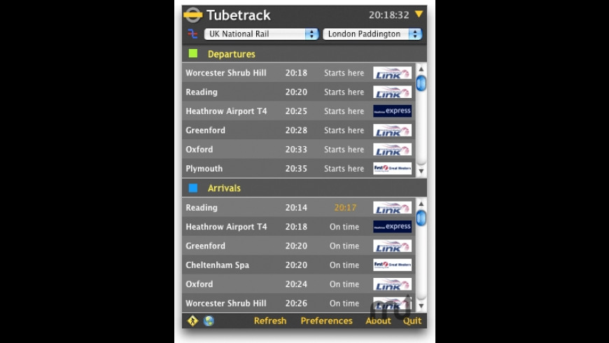 Tubetrack for Mac - review, screenshots