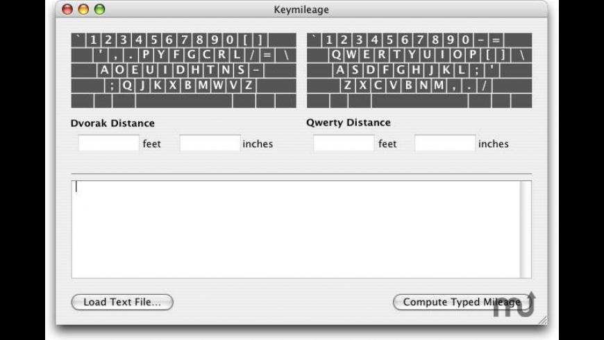 Keymileage for Mac - review, screenshots