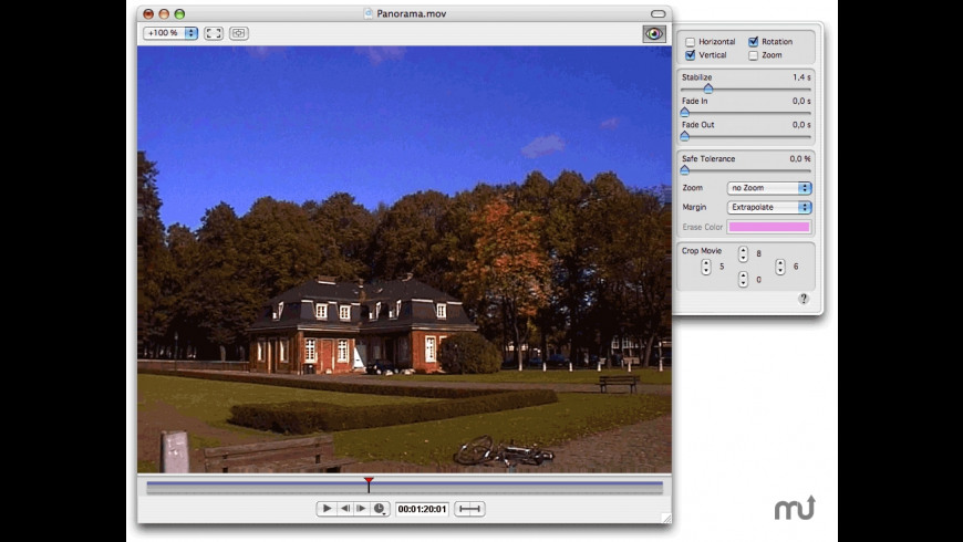 iStabilize for Mac - review, screenshots