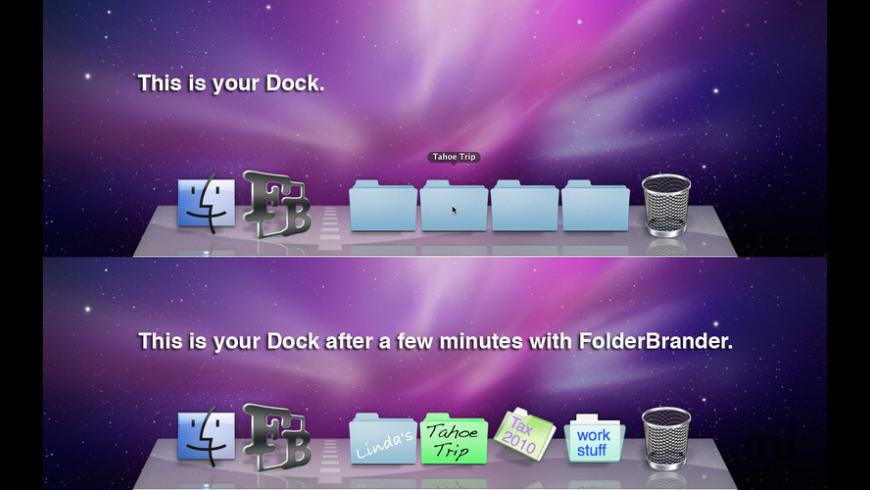 FolderBrander for Mac - review, screenshots