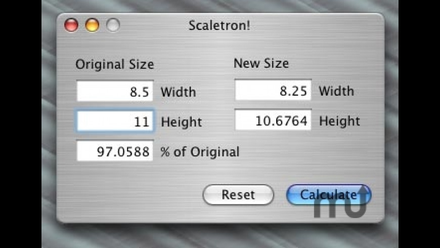 Scaletron! for Mac - review, screenshots