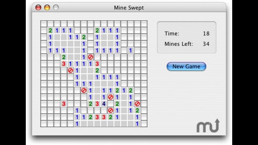 Mine Swept for Mac - review, screenshots