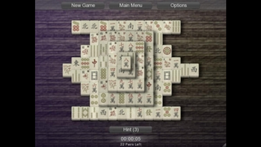Mahjong Solitarus for Mac - review, screenshots