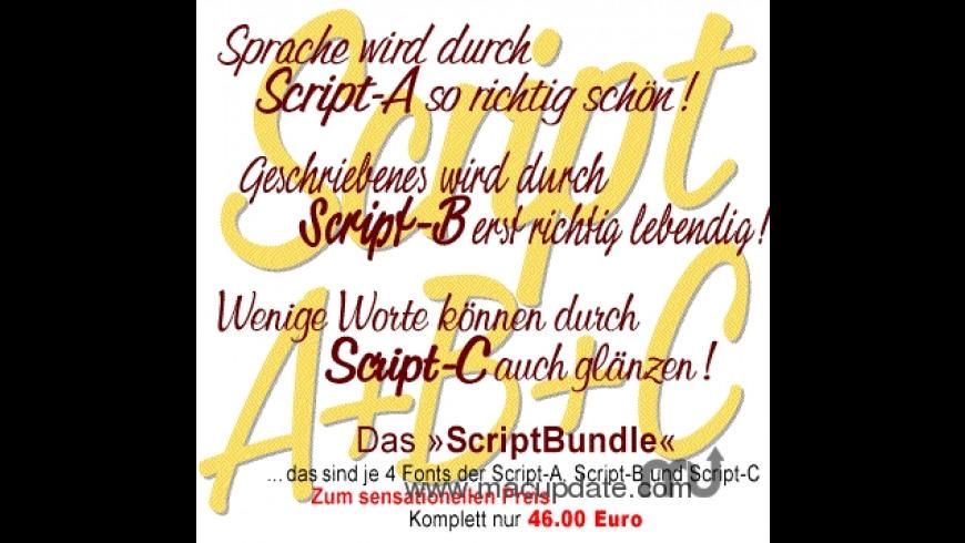 Script-Bundle for Mac - review, screenshots