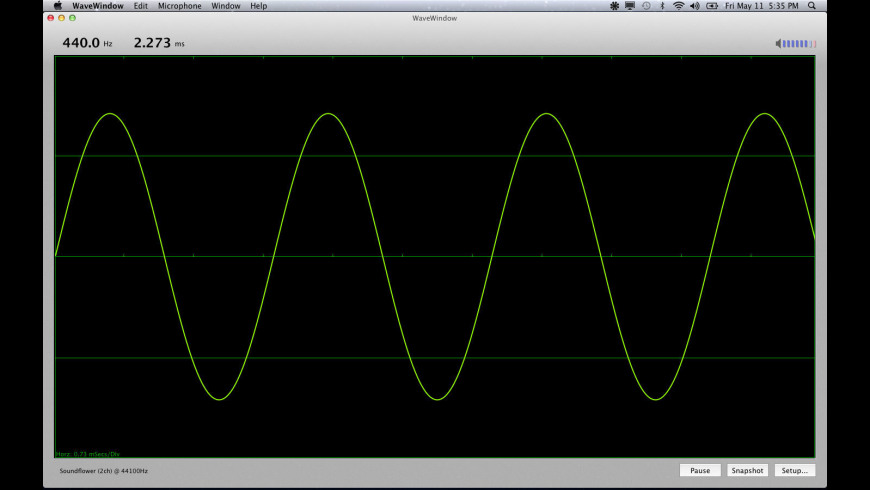 WaveWindow for Mac - review, screenshots