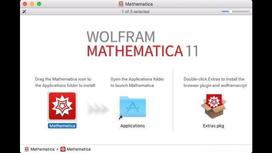 Mathematica for Mac - review, screenshots