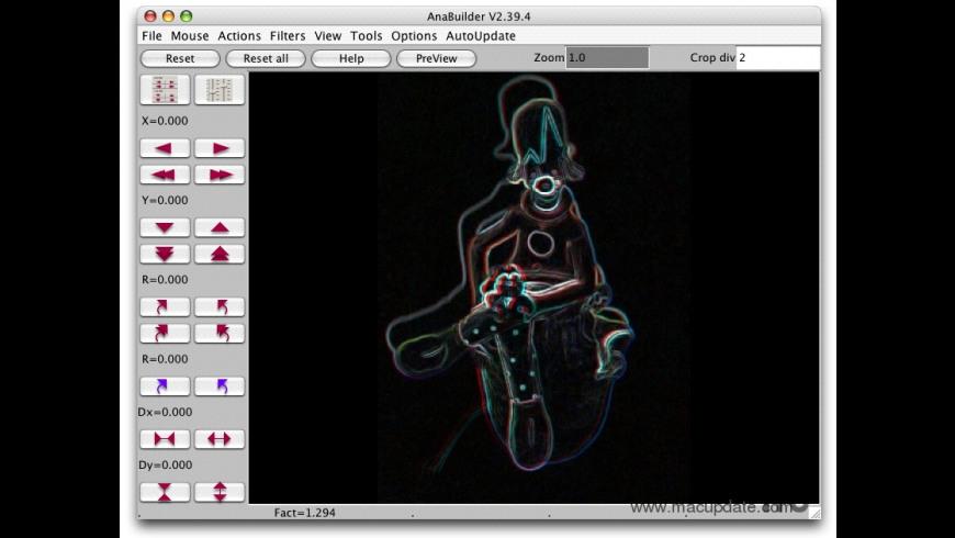 AnaBuilder for Mac - review, screenshots