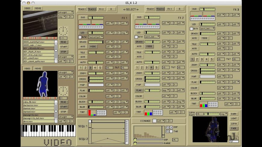 ES-X for Mac - review, screenshots