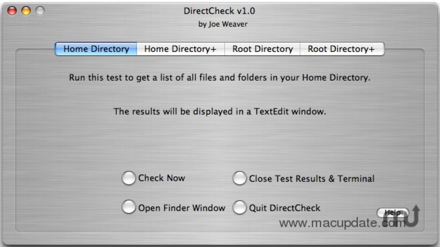DirectCheck for Mac - review, screenshots
