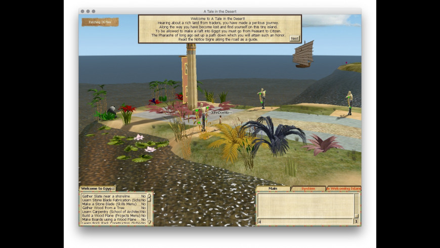 A Tale in the Desert for Mac - review, screenshots
