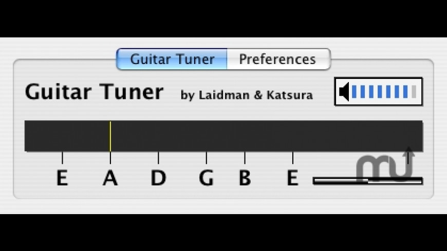 Guitar Tuner AU for Mac - review, screenshots