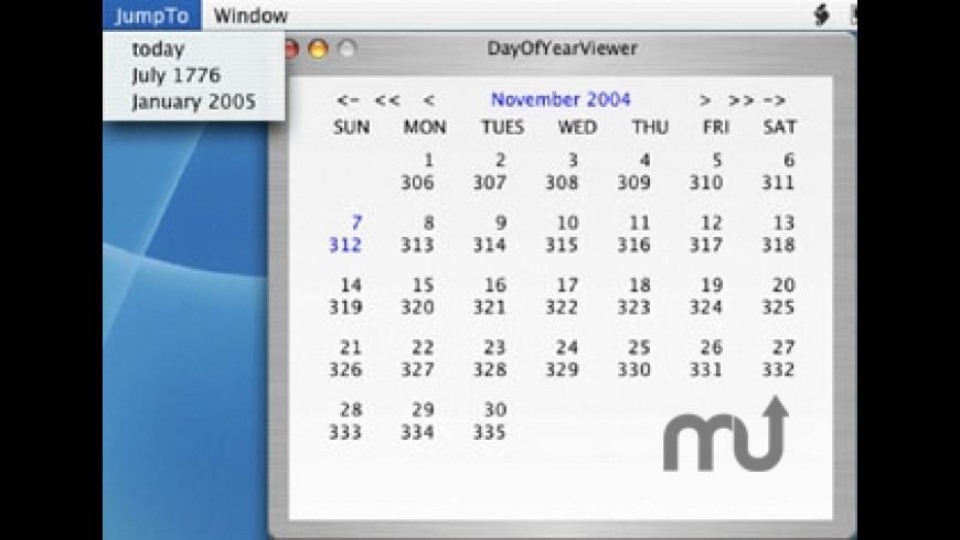 DayOfYearViewer for Mac - review, screenshots