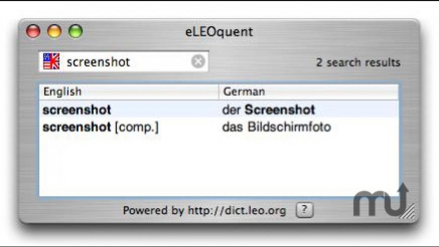 eLEOquent for Mac - review, screenshots