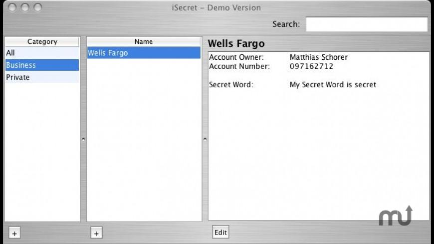 iSecret for Mac - review, screenshots