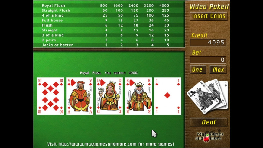 UglyPoker for Mac - review, screenshots