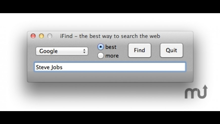 iFind for Mac - review, screenshots