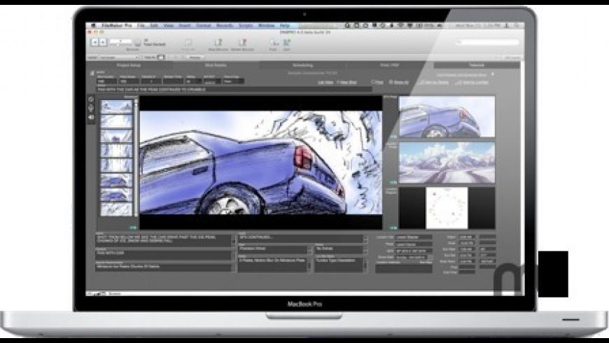 Directors NoteBook Pro for Mac - review, screenshots