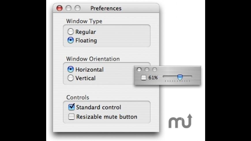 Volume Slider for Mac - review, screenshots