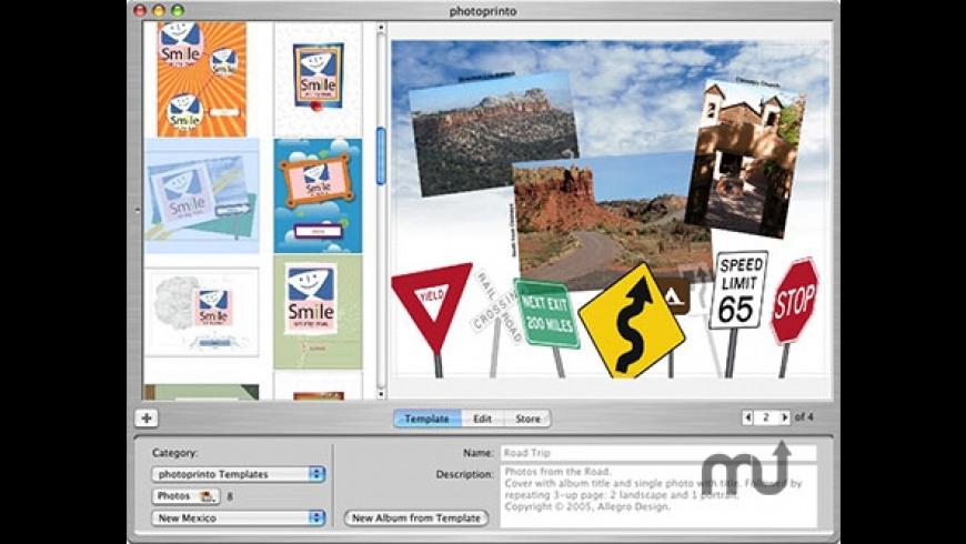 photoprinto for Mac - review, screenshots