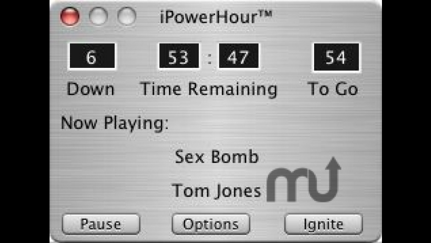 iPowerHour for Mac - review, screenshots