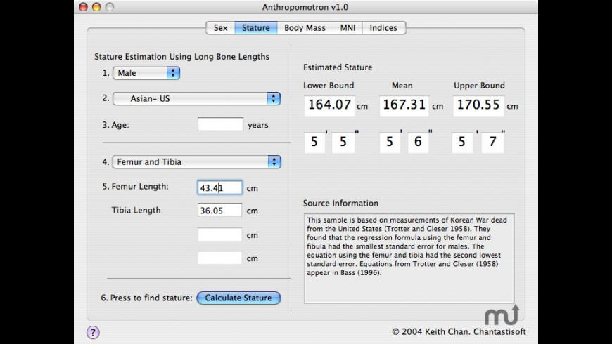 Anthropomotron for Mac - review, screenshots