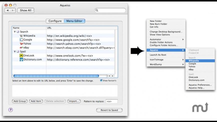 Aqueiss for Mac - review, screenshots