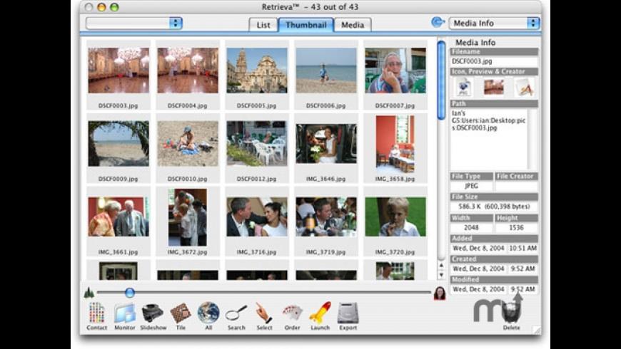 Retrieva for Mac - review, screenshots
