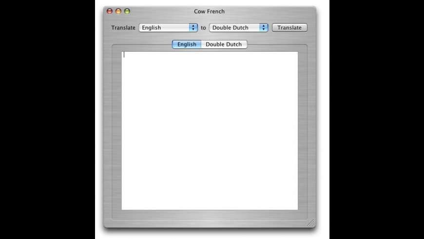 Cow French for Mac - review, screenshots