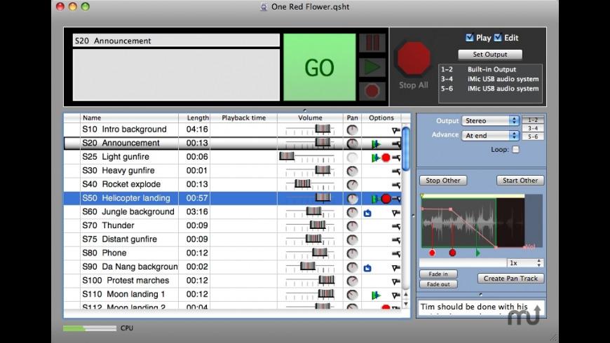 Macs Cue 2 1 0 Free Download for Mac | MacUpdate